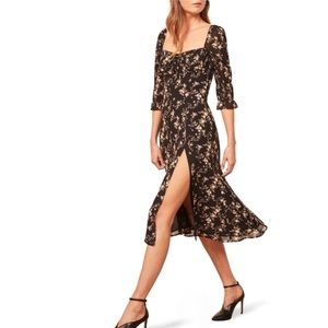 NEW Reformation • Marnie Floral Dress
